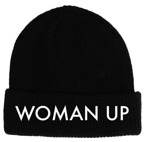 WOMAN UP BEANIE