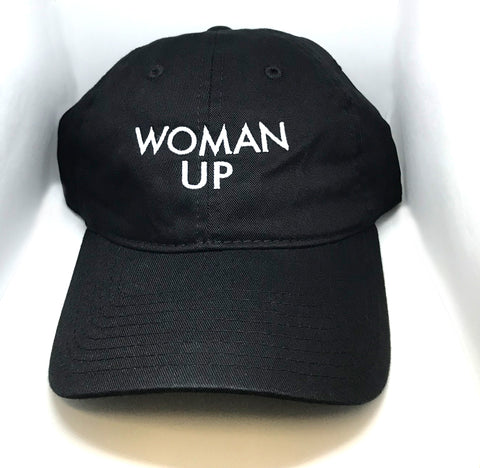 WOMAN UP DAD HAT