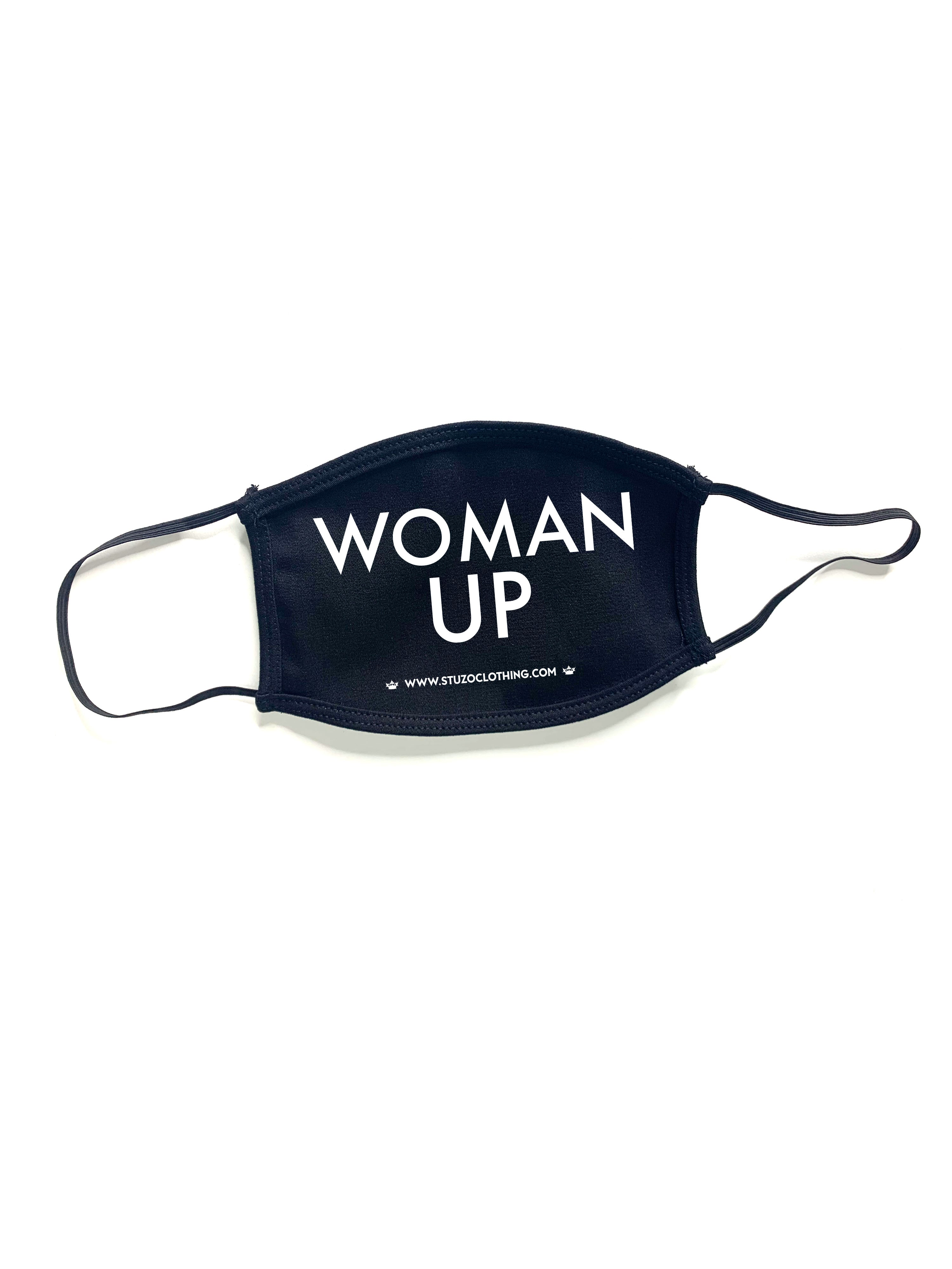 WOMAN UP FACE MASK