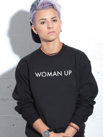 WOMAN UP SWEATER