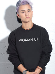 WOMAN UP-SWEATER