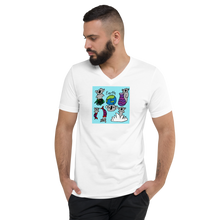 Load image into Gallery viewer, Koala Earth Unisex  V-Neck T-Shirt