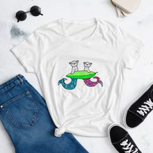 Load image into Gallery viewer, Mermaid Koala t-shirt