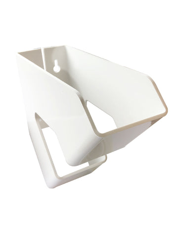 Incineration toilet bag holder - plastic