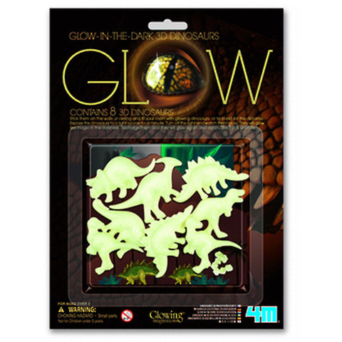 4M Glow In The Dark - 3D Dinosaurs