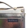 Metallic Gold Miniature 'Babe' Leather Satchel
