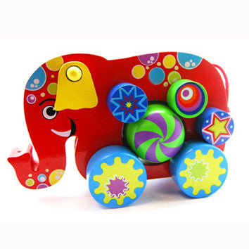 Push and Go Elephant 18 months - 3 years)