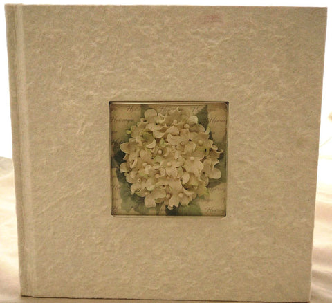 Photo Album - White Hydrangea