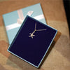 1/7ct Starfish Diamond Pendant Necklace