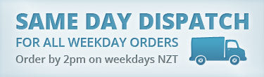 Same day dispatch for all orders