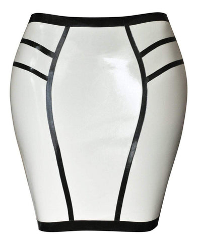 Adria Latex Skirt