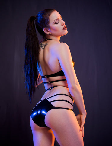 Inferno Latex Knickers - READY TO SHIP