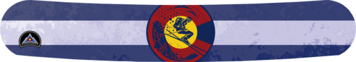 True Blue CO Flag Skier Wrap
