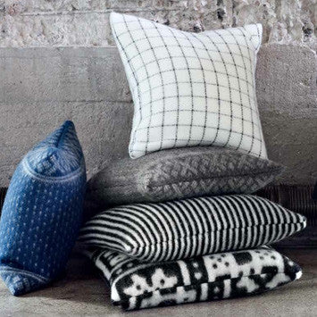 Designer Pillows Compliment Lufina Blankets & Throws