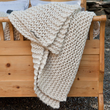 Links Alpaca Throw by Alicia Adams