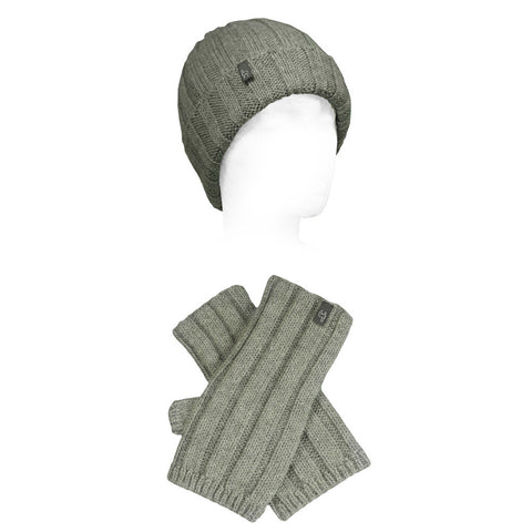 Accordion Alpaca Hat & Glove Sets