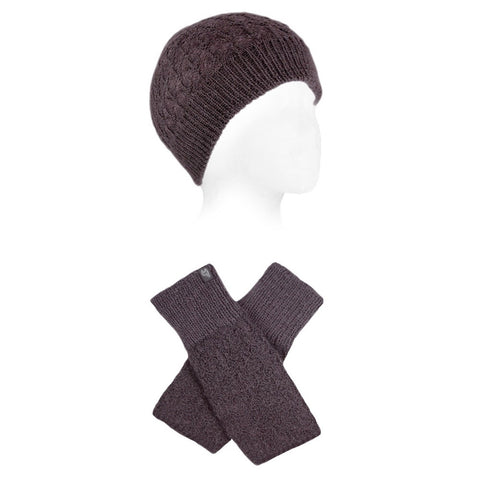 Diamond Alpaca Hat & Glove Set by Shupaca