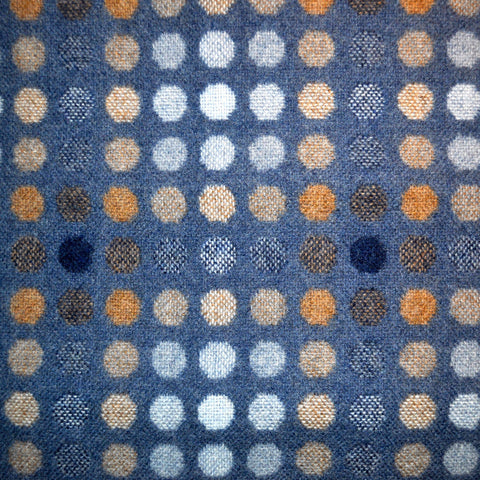 Mondo Pattern Shown in Denim