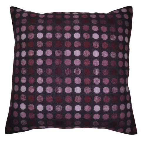 Mondo Woven Pillow by Paulette Rollo