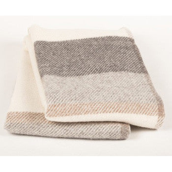The Myrull wool blanket provides warmth without weight or bulk. That's the beauty of wool. Natural - good for our environment