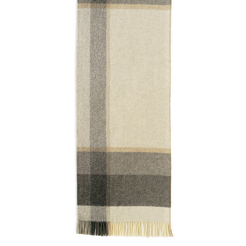 Myrull Fringed Norwegian Wool Blanket by Røros Tweed