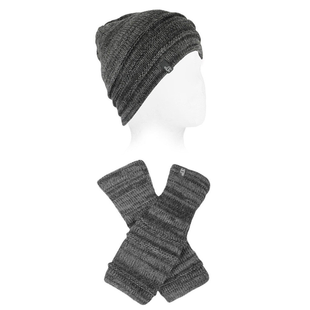 Ribbon Alpaca Hat & Glove Sets