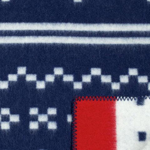 The Setesdal: Blue/White Red Stripe on one side AND White/Blue Red Stripe on the other side. Two looks to suit your fancy.