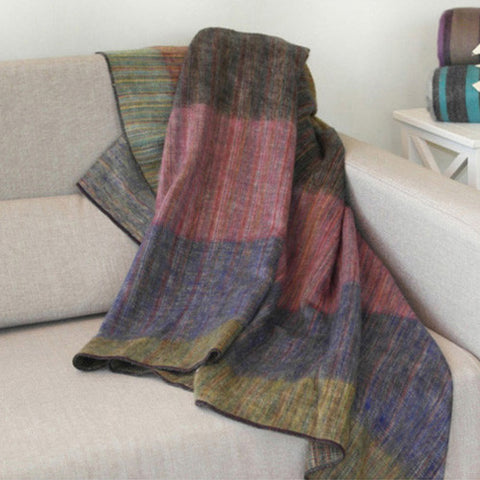 Patch Alpaca Blanket by Shupaca