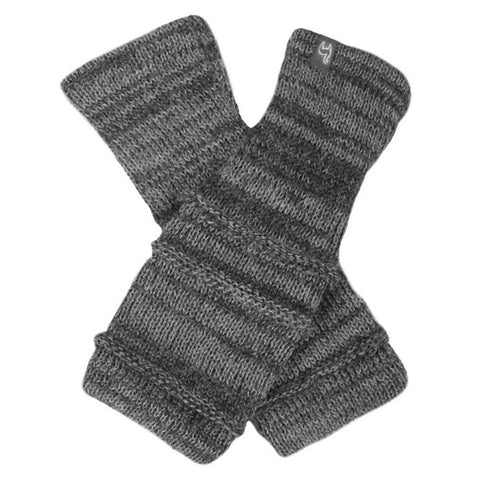 Ribbon Alpaca Gloves by Shupaca