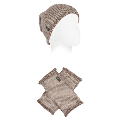 Rustic Alpaca Hat & Glove Sets by Shupaca