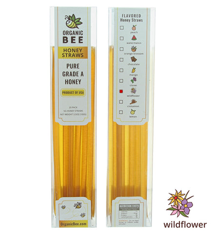 Wildflower Honey Straws