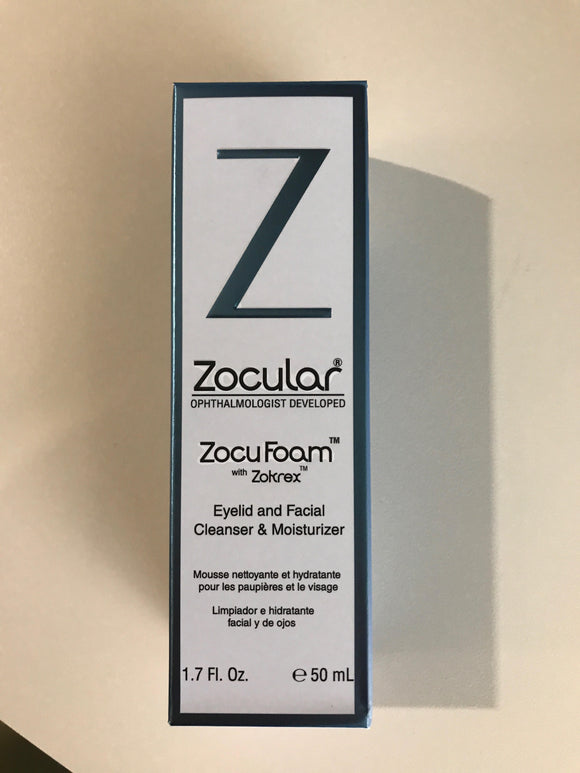 ZocuShield Eyelid Cleanser and Moisturizer
