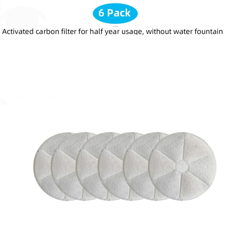 AEROFOUNT Pet Fountain Replacement Filter Pack