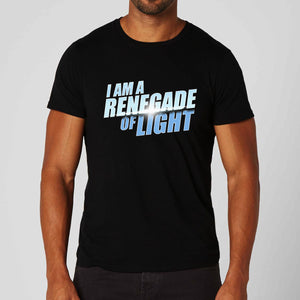 I am a Renegade of Light Black T-Shirt - Unisex