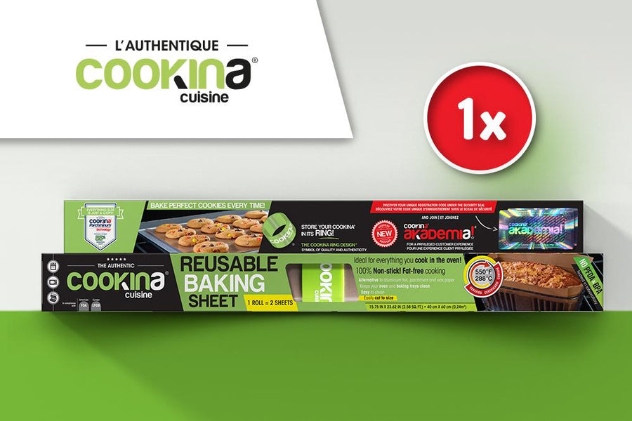 1 Reusable COOKINA cuisine sheet