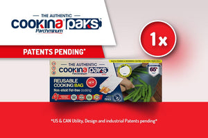 1 box of Reusable COOKINA PAKS Parchminum