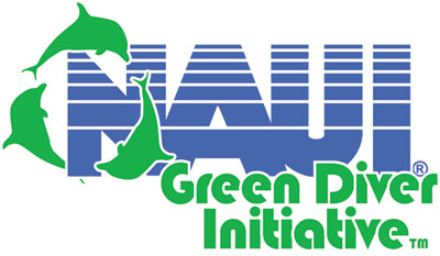 Mokarran proudly supports the NAUI Green Diver Initiative!