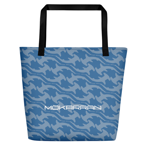 Scuba accesories: Shark Blue Beach Bag