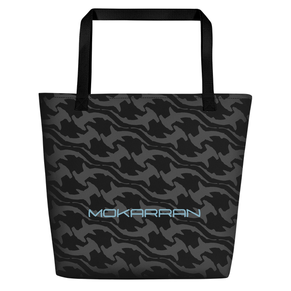 Scuba accesories: Shark Black Beach Bag