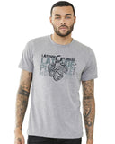 Diving center: scuba t-shirt octopus grey