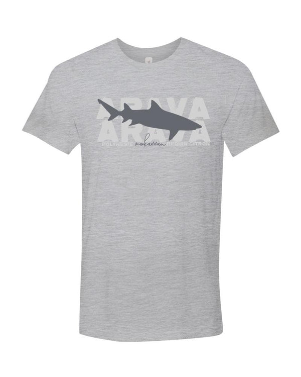 Shark t-shirt for men  with lemon shark