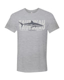 Scuba t-shirt Silky shark grey