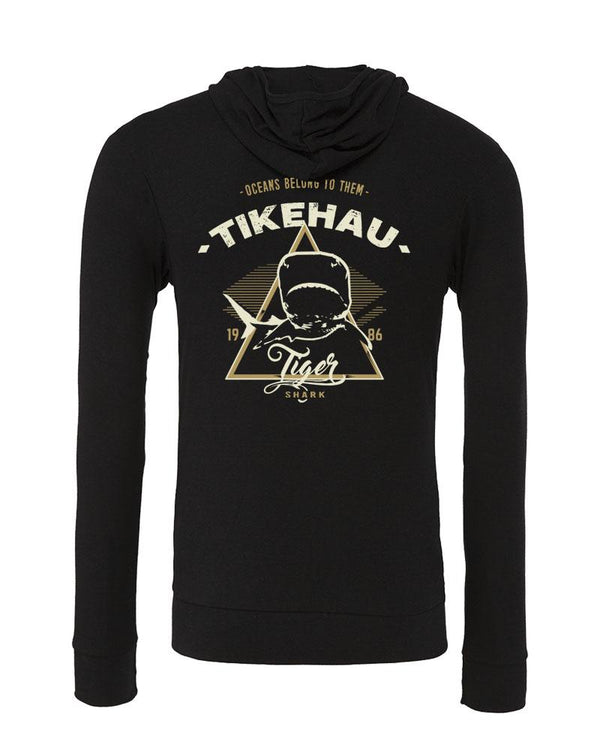 diverwear brand shark Hoodies. Color black- Tikehau