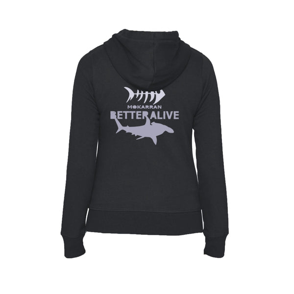 scuba diving hoodies for women with shark