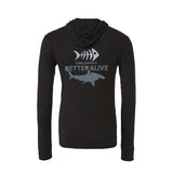 scuba diving hoodies for men with shark