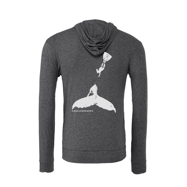 Scuba diving hoodies for men with humpback whale
