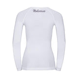 Women MKN Sharks longsleeves scuba diving back rash guard