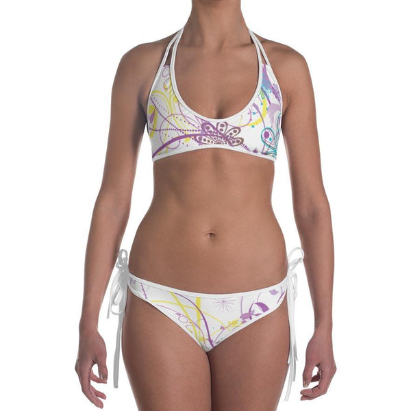 Tropical Flowers Mokarran Bikini 1