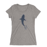 Shark t-shirt for women with shark