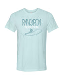 Rangiroa Tiger Shark blue Scuba tee shirt